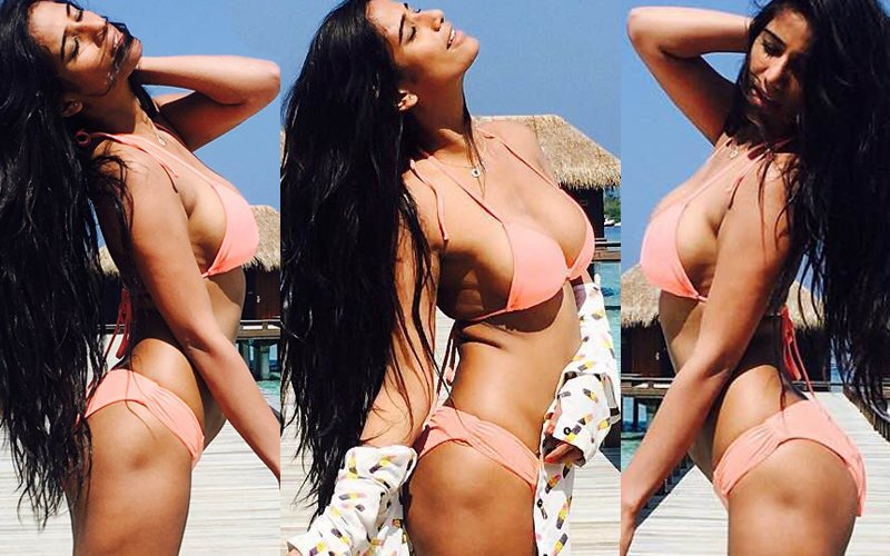 Poonam Pandey's Bikini Pictures From Maldives