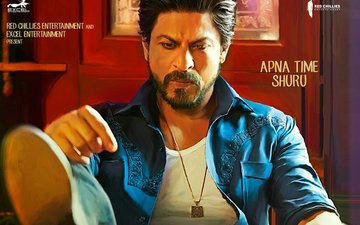 Here's Shah Rukh's New Deadly Poster From Raees