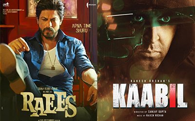 raees and kaabil poster