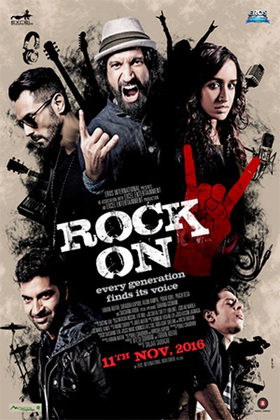 rock on 2 poster movie poster