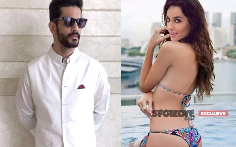IT'S OFFICIAL: Angad Bedi & Nora Fatehi Confirm Their Romance At Yuvraj's Wedding
