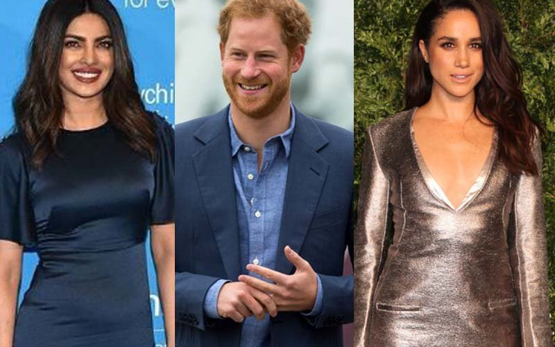 Priyanka Chopra Dodges Question On Meghan Markle & Prince Harry's Romance