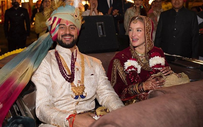 Arunoday Singh Ties The Knot With Canadian Girlfriend Lee Elton