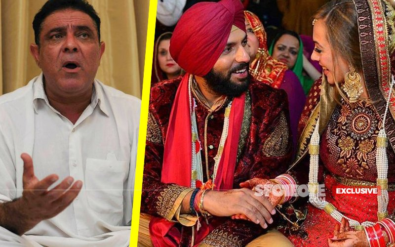 Daddy Yograj FLARES UP AGAIN, Blames Baba For Changing Yuvraj's Wife Hazel's Name!