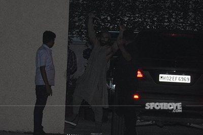 ranveer singh snapped at the party