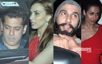 Salman Khan, Iulia Vantur, Ranveer Singh, Malaika Arora Celebrate Sohail Khan's Son's Birthday