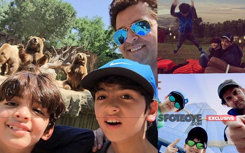 It's Vacay Time For Hrithik Roshan & Family In France!