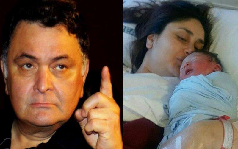 Now, Rishi Kapoor Says: Leave Kareena's Son Taimur Alone