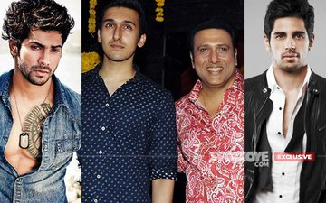 Is Govinda's Son Yashvardhan Ahuja Emulating Varun Dhawan And Sidharth Malhotra?