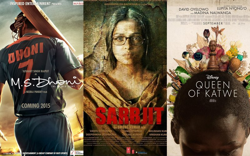 Dhoni Biopic, Sarbjit And Mira Nair's Queen Of Katwe In Oscars' Long List