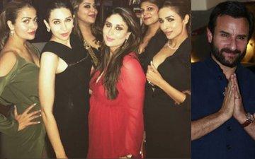 Days After Bringing Son Taimur Home, Kareena Kapoor Khan Rings In Christmas With Saif, Karisma And Malaika