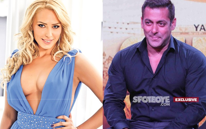 Iulia Vantur Gets Deeper Into Salman's Life, Invades Being Human