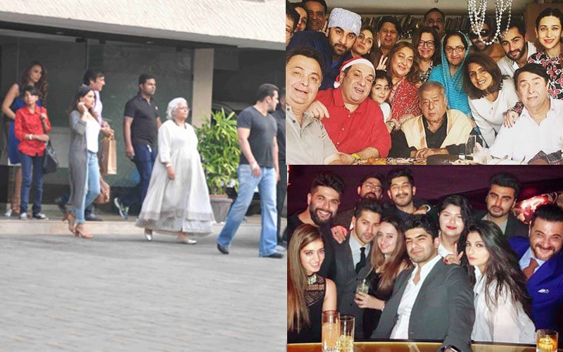PARTY TIME: Salman-Iulia, Varun-Natasha And The Kapoor Khandaan Enjoy The Christmas Weekend To The Hilt!