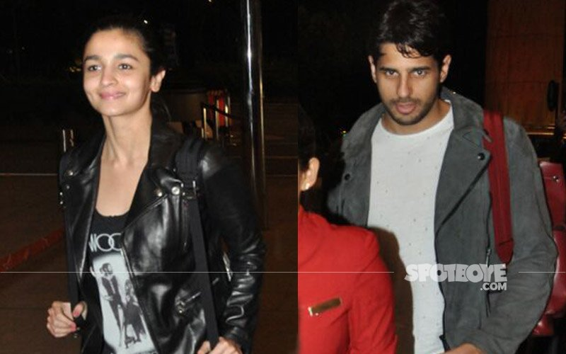 Alia Bhatt & Sidharth Malhotra To Ring In 2017 Together, Depart For An 'Undisclosed' Location