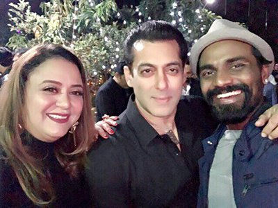 salman khan with remo dsouza