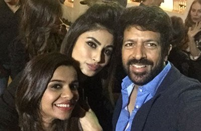 kabir khan with mouni roy