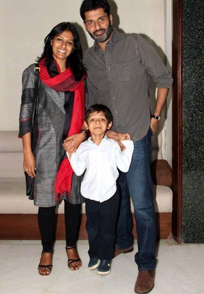 nandita das with family