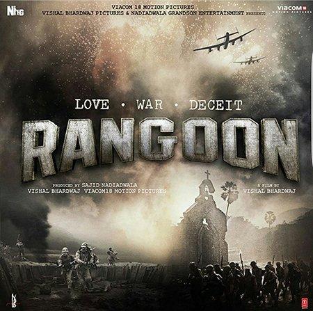 rangoon official poster