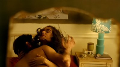 shraddha kapoor and aditya roy kapur in an intimate scene ok jannu