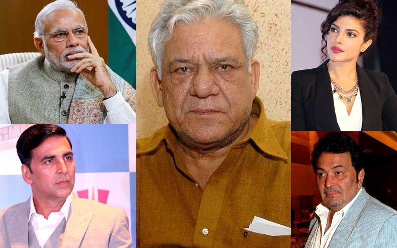 PM Modi, Akshay Kumar, Priyanka Chopra, Rishi Kapoor Pay Condolences To Veteran Actor Om Puri's Family
