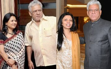 Seema & Nandita Hold Separate Prayer Meets Of Om Puri