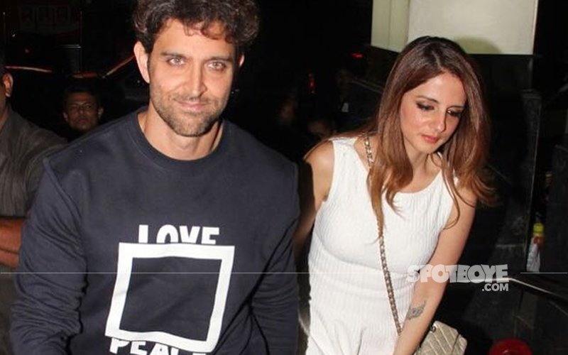 Hrithik Roshan Celebrates His Birthday With His Ex-Wife Sussanne Khan!