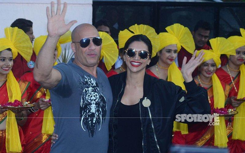 JUST IN: Deepika Padukone Welcomes Vin Diesel In Bollywood Style!