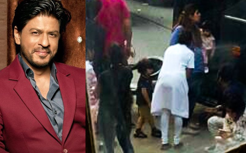 Shah Rukh Khan Brings Along Darling AbRam For Raees Promotions