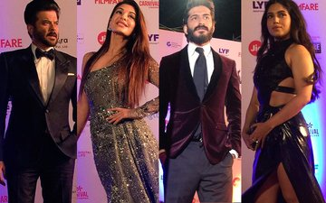 FILMFARE AWARDS 2017: Anil, Jacqueline, Harshvardhan, Bhumi Are The Early Birds