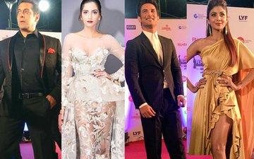 FILMFARE AWARDS 2017: Salman, Sonam, Sushant & Shilpa Grace The Red Carpet