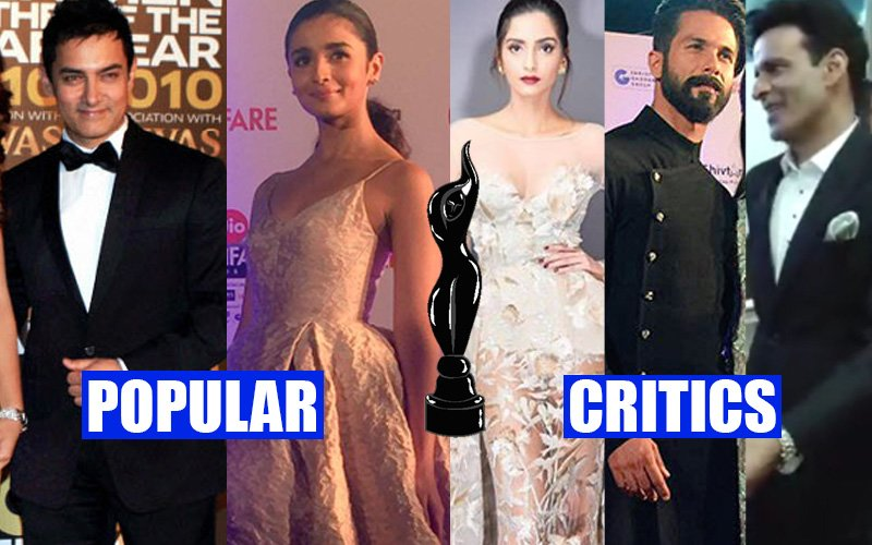 FILMFARE AWARDS 2017: Aamir Khan & Alia Bhatt Take The Black Lady Home