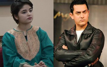 Aamir Khan Reacts To Zaira Wasim Controversy, Says Leave Her Alone!