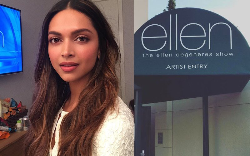 Deepika Padukone Looks Stunning On The Ellen DeGeneres Show!
