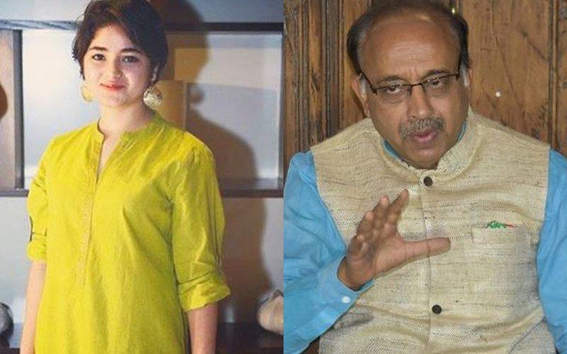 Dangal's Zaira Wasim Gets Into Twitter War With Sports Minister Vijay Goel