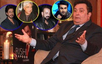 From SRK & Javed Akhtar To Sanjay Dutt & Ranbir, Shocking Revelations In Rishi Kapoor's Book