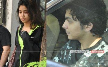 CAUGHT! Sridevi's Daughter Jhanvi On a Lunch Date With Boyfriend!