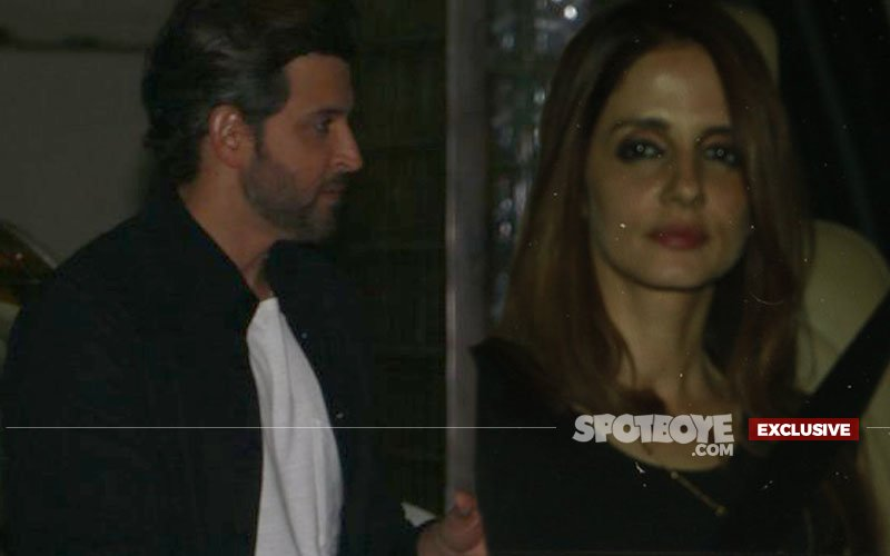 Sussanne Enters Hrithik's Home At Night & Sets The Dance Floor On Fire!