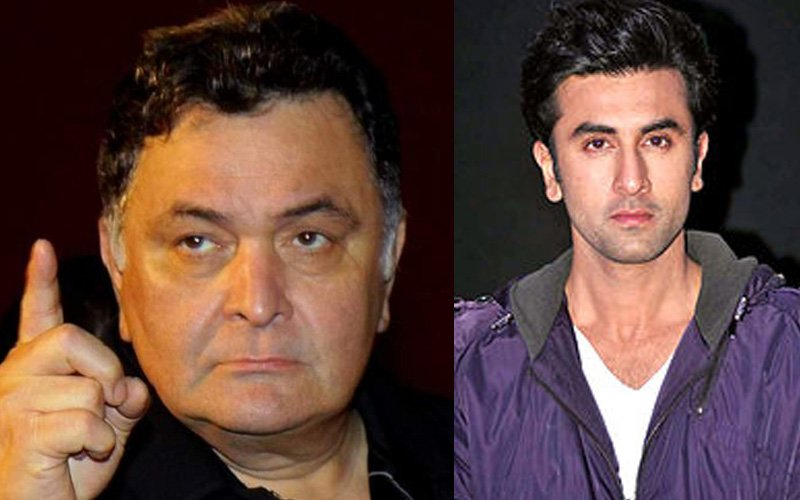 Here's Why Rishi Kapoor Lashed Out At Ranbir Kapoor Over An SMS!