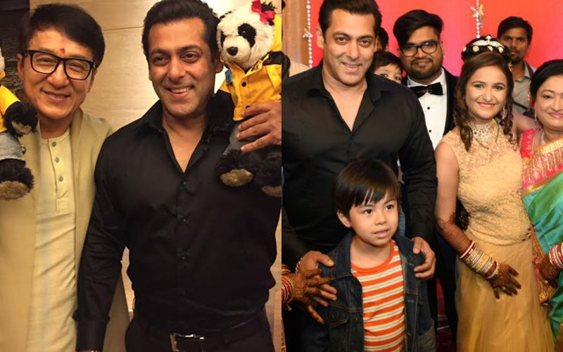 After Meeting Jackie Chan, Salman Khan Heads Off To Driver's Son's Wedding