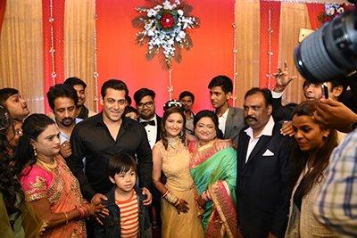 salman khan at a wedding