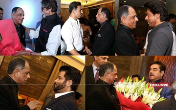 20 Exclusive Pictures Of Big B, SRK, Anil, Akshay, Shatrughan Sinha At Censor Chief Pahlaj Nihalani's Bash