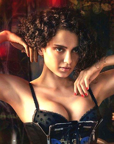 kangana ranaut india magazine hot photoshoot
