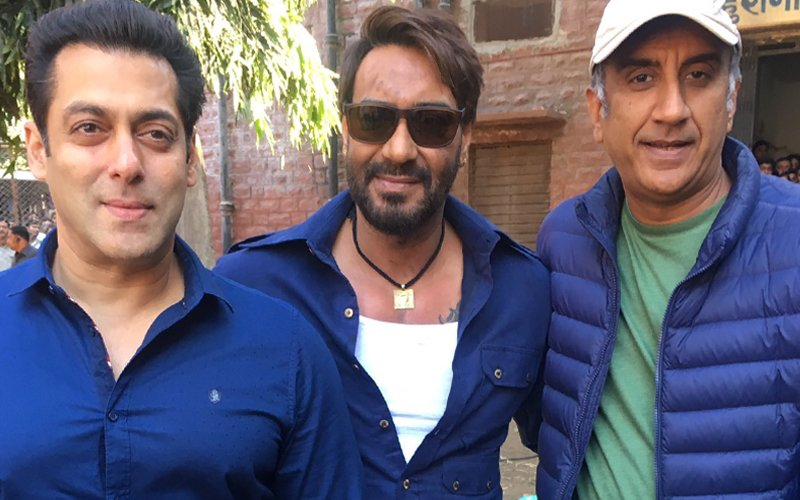 What Controversy? Ajay And Salman BOND Over Lunch In Jodhpur