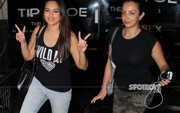 Sonakshi Bonds With Rumoured Beau Bunty's Sister Seema