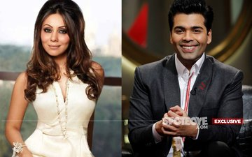 Gauri Khan Re-Enters KJo's Home To Complete Its Decor