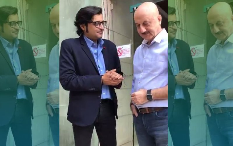 Anupam Kher Finally Manages To Shut Arnab Goswami Up