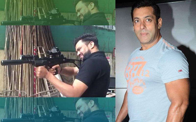 Ali Abbas Zafar Tests Salman Khan's Guns For Tiger Zinda Hai