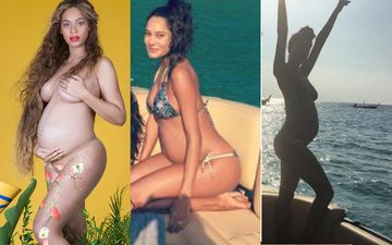 BIKINI ALERT: After Beyonce, Lisa Haydon Slays With Her Baby Bump Pics