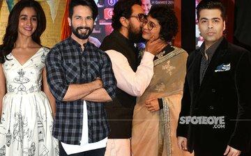 Alia, Shahid, Karan Johar Raise A Toast To Aamir Khan's Dangal