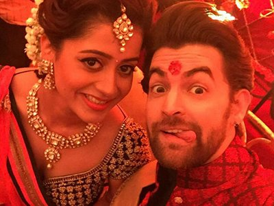 neil nitin mukesh with his wife